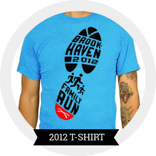 2012 Brookhaven 5k T-Shirt