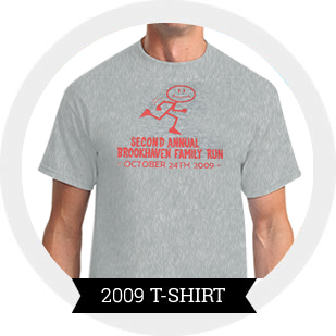 2009 Brookhaven 5k T-Shirt