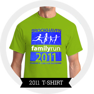 2011 Brookhaven 5k T-Shirt