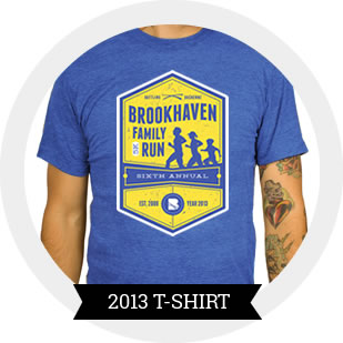 2013 Brookhaven 5k T-Shirt